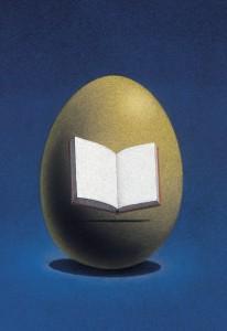 Jan Bouman, Das Goldene Ei. ©Internet-Buchverlag